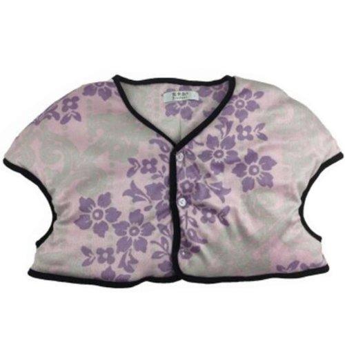 Women Prevent Arthritis Pain Thick Velvet Shoulder Warmers Clothing Jacket XXL Size(Purple)