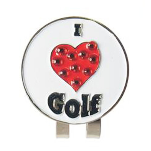 Golf Magnetic Hat Cap Clip/ Golf Ball Marker/ On-Course Accessories-02
