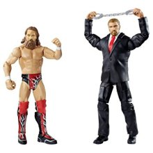 WWE Figure Two-Packs Series No.32 - Daniel Bryan vs. Triple H with Handcuffs