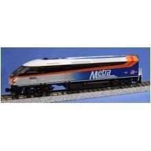Kato USA Model Train Products MPI MP36PH #416 Chicago Metra N Scale Train