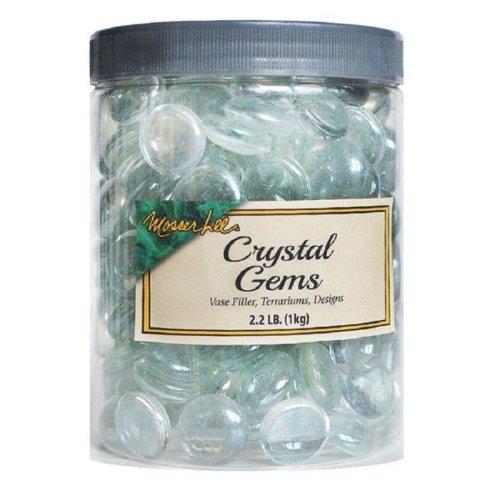 Mosser Lee ML2131 Crystal Gems  Clear- pack of 8