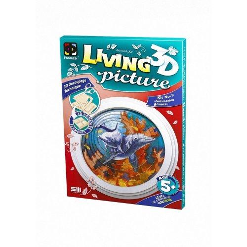 Elf956062 - Fantazer 3d Living Picture - Submarine Games