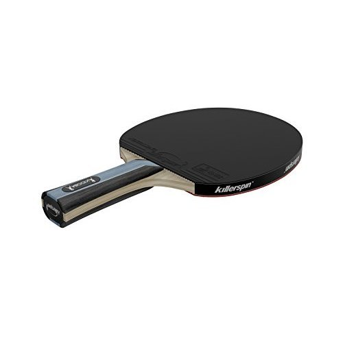 Killerspin Kido 5A Premium Table Tennis Paddle Flared Custom Designed Premium Paddle With High Tension Fortissimo Table Tennis Rubbers