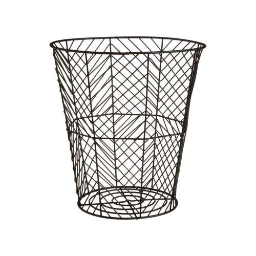 Vertex Storage Basket Black Powder Coated Finish