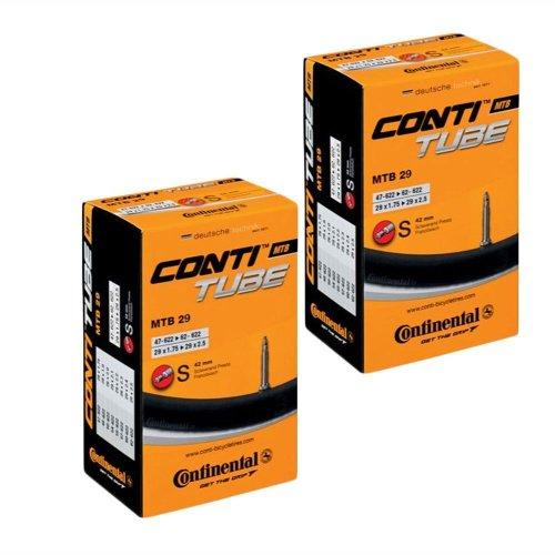 2 x Continental MTB 29 Mountain Bike inner tube Presta Valve 1.75 to 2.5