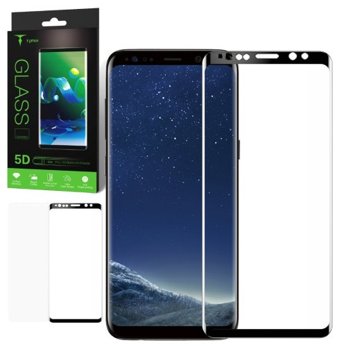 5D Tempered Glass for Samsung Shatter Proof Screen Protector by t-phox