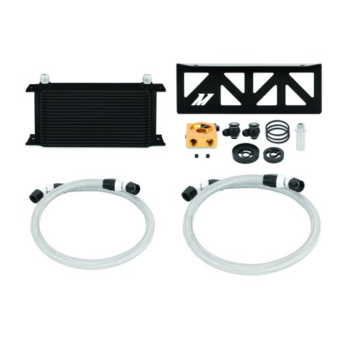 Mishimoto Subaru BRZ / Scion FR-S Oil Cooler Kit, 2013+, Black Thermostatic