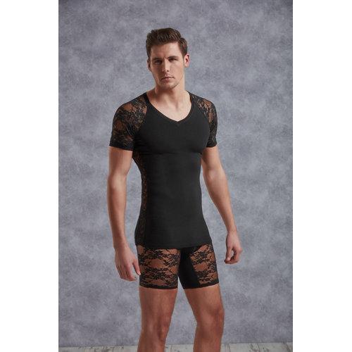Doreanse T-Shirt Men - Black XL Men's Lingerie Shirts - Doreanse