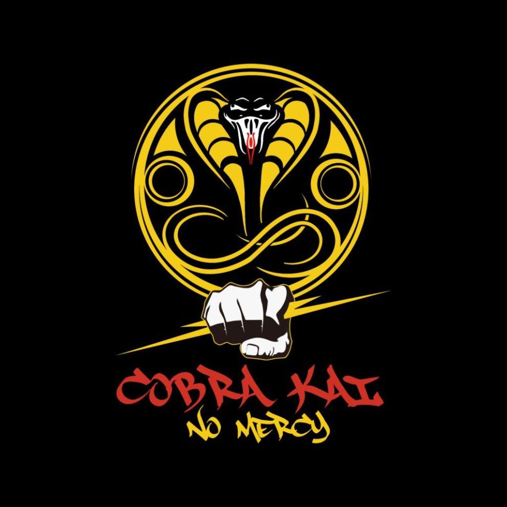 Cobra Kai Logo No Mercy Men's Vest on OnBuy