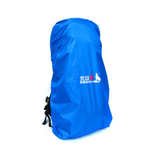 (Blue) Camping/Hiking Water-proof Backpack Rain/Snow Cover, Size L, 70-90L