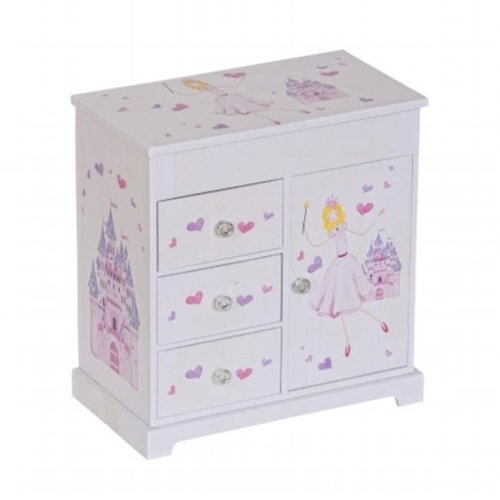 Mele 00718S16 Adalyn Girls Musical Ballerina Jewelry Box