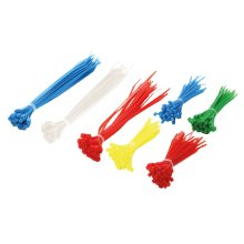 LogiLink KAB0017 Nylon Blue,Green,Red,White,Yellow cable tie