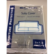Sofa Cover - 2 or 3 seat plastic cover Removals Storage