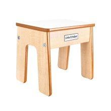 Little Helper FunStool Child Chair & Stool (Natural/White)