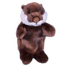 Dowman Otter Hand Puppet Soft Toy 28cm