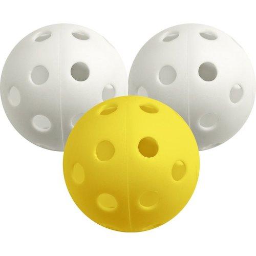 White Pack Of 12 Airflow Balls - Longridge -  airflow balls white longridge 12 pack