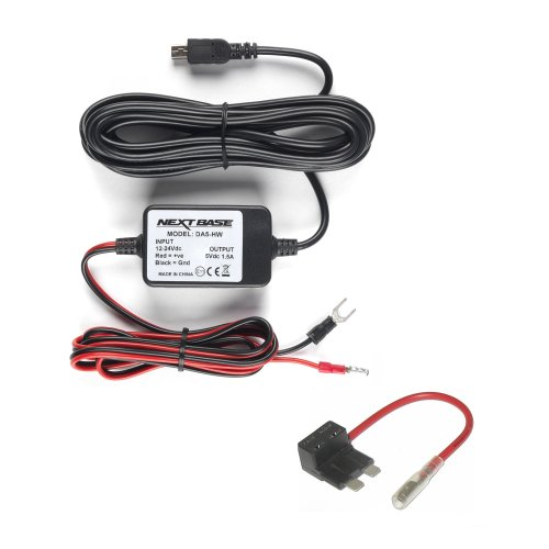 Nextbase Car Camera Hard Wire Kit - For Nextbase 612GW, 512GW, 512G, 402G, 412GW, 312GW, 302G, 212, 202, 101, 112, DUO, DUO HD and Mirror in car...
