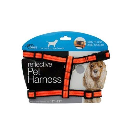 Kole Imports DI552-8 Medium Reflective Dog Harness - Pack of 8