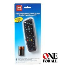 One For All Remote Control for Satellite Digital Box and TV (URC1625)