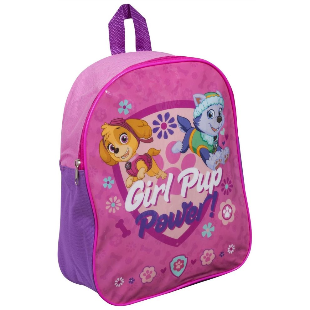 99541d6c885a Children Kids Paw Patrol Girl Pup Power Girls Travel Shoulder Backpack ...