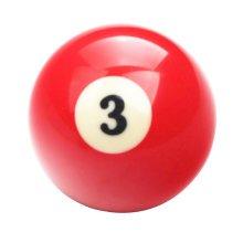 1 PCS Cue Sport Snooker USA Pool Billiard Balls 57.2 mm /2-1/4 - NO.3
