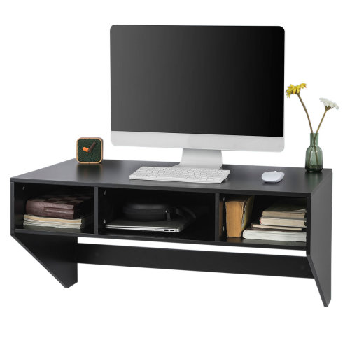 SoBuy® FWT14-SCH, Home Office Wall Mounted Computer Desk Workstation