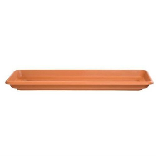 Stewart Garden Deep Trough Tray - 60cm - Terracotta (2255034)