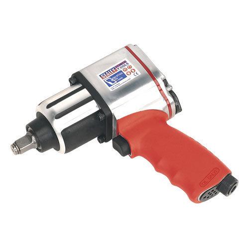 "Sealey GSA02 1/2""Sq Drive Air Impact Wrench - Twin Hammer"