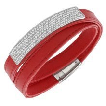 Swarovski Vio Leather Bracelet - 5120644