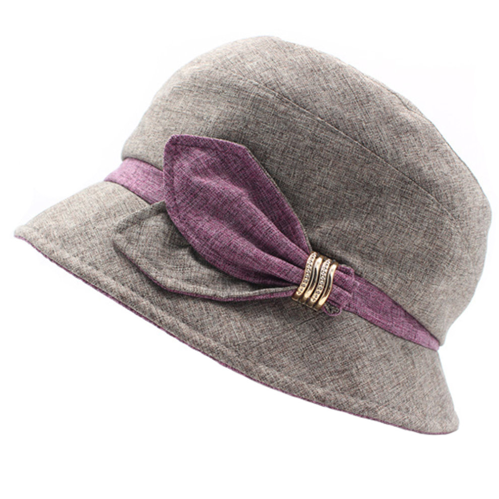 Fashionable Elegant Hats Sun Hat Bucket Hat Ladies Outdoor Cap ... 1d432f473fb