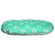 Trixie Jimmy Dog Cushion, 65 x 40 Cm, Turquoise/grey - Cushion Turquoisegreycm -  trixie dog jimmy cushion turquoisegrey 65 40 cm pillow various