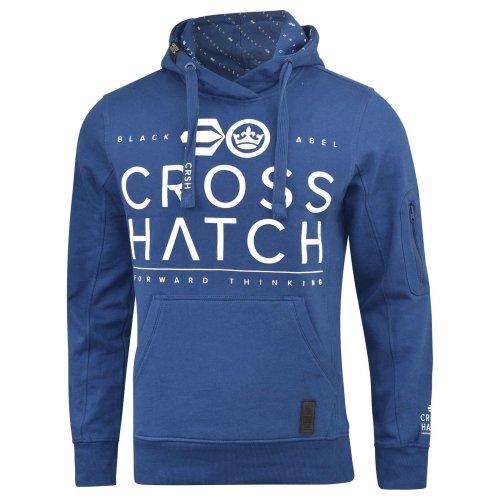 Mens crosshatch hoodie festus