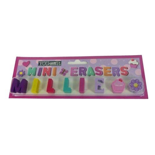 Childrens Mini Erasers - Millie