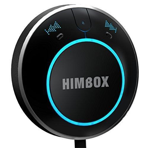 Rii HimBox HB01 (Black) - Kit Bluetooth 4.0 for car radios and home hi-fi (Music + Handsfree)