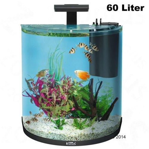 Halfmoon Aquarium Complete Set - 60L