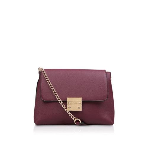 2add172d92a CARVELA WINE  BLINK CHAIN HANDLE BAG  SHOULDER BAG on OnBuy