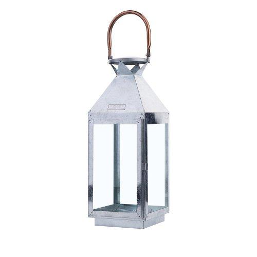 Metal Lantern Silver PHUKET