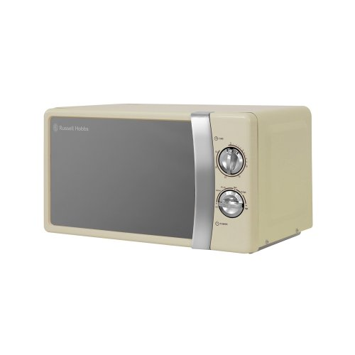 Russell Hobbs RHMM701C 17L Manual 700w Solo Microwave Cream