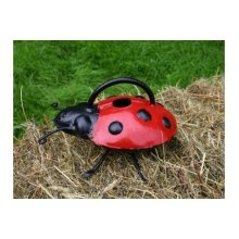 Ladybird Gardening Watering Can - Hand Crafted Metal -  hand crafted metal ladybird watering can
