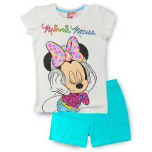 Minnie Mouse Short Pyjamas - Turquoise