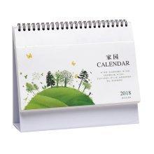 January 2018 - December 2018 Calendar Standing Desk Calendar