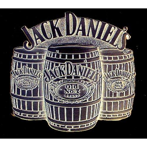 Jack Daniels 'Barrels' Belt Buckle