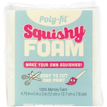 "Fairfield Poly-Fil Squishy Foam-4.75""X5""X3"""