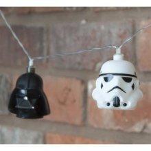 Star Wars Darth Vader And Stormtrooper String Light Set