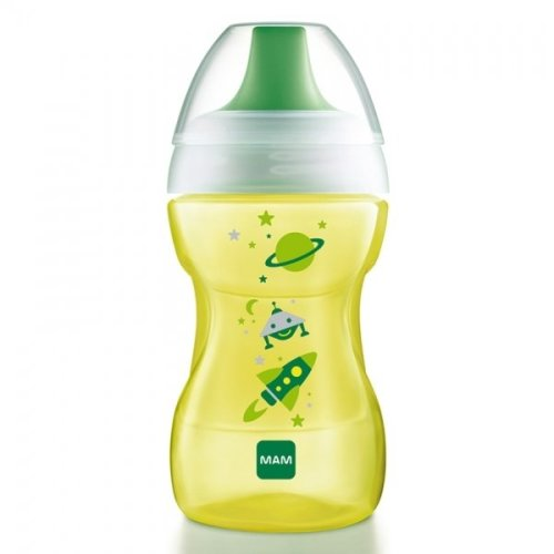 MAM Learn To Drink Cup 270ml 8m+ Green