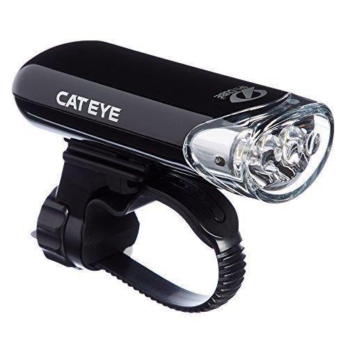 CAT EYE HL EL135 LED Safety Bike Headlight for Commuting Black