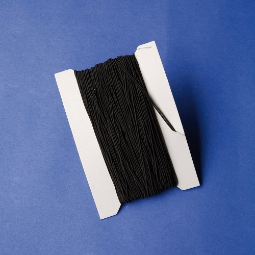 Pbx2462044 - Playbox - Elastic String (black) - 25 M, Ï 1 Mm