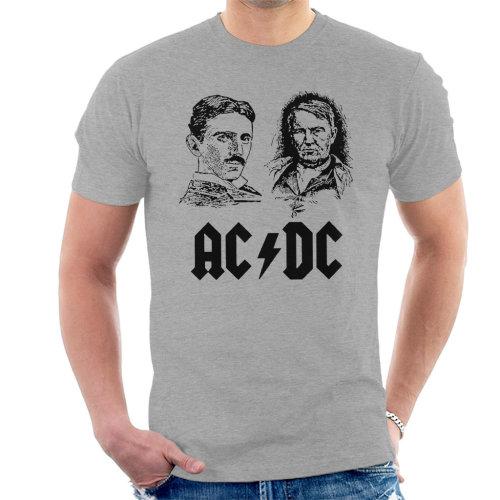 ACDC Thomas Edison Tesla Men's T-Shirt