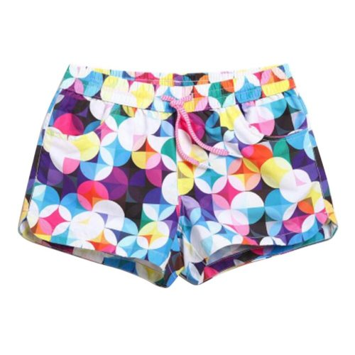 Quick-drying Beach Pants Women's Vacation Swimsuit Beach shorts,L Size,C2