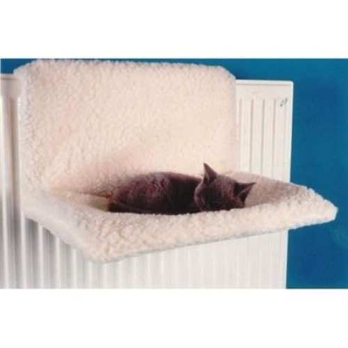Pet Cat Fleece Radiator Bed -  pet radiator warm cat basket dog kitten puppy fleece bed cradle animal playful pets